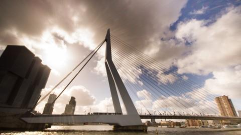 De deur uit naar Rotterdam