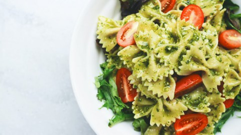 Vijf frisse pastasalades