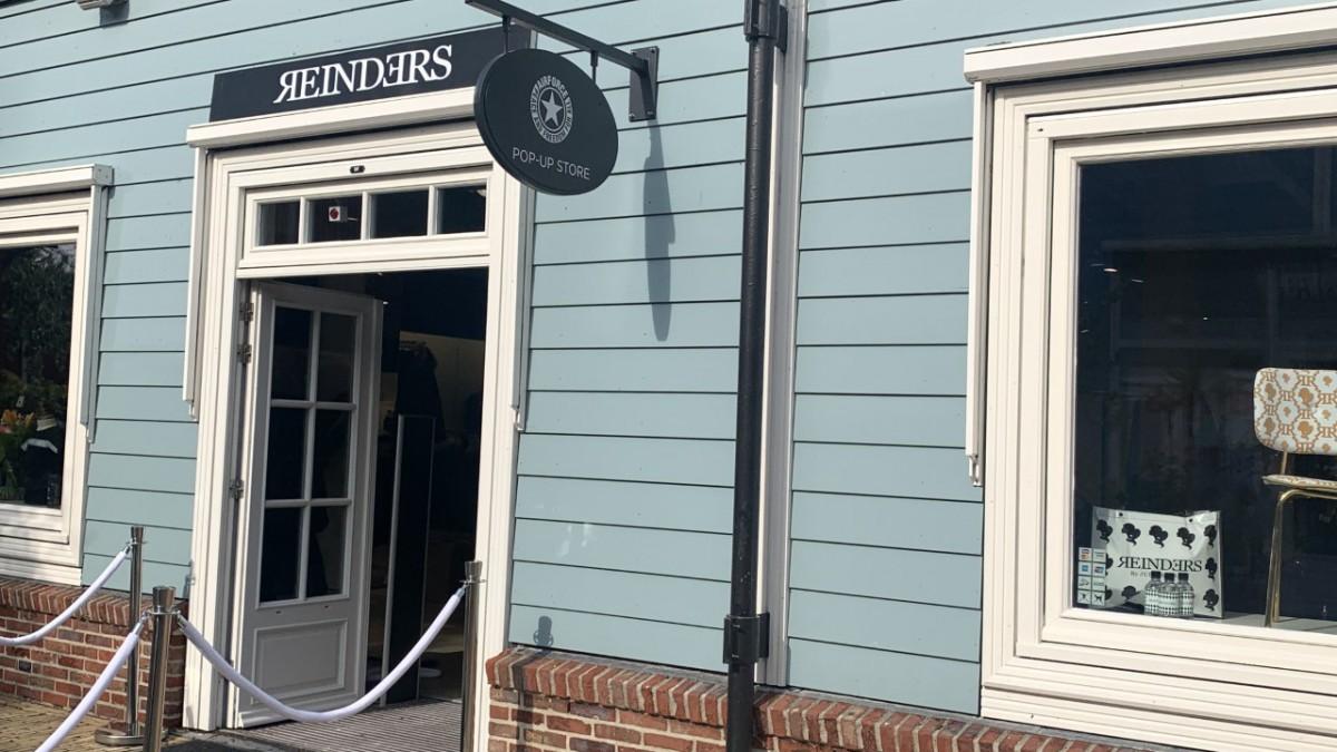 Reinders JM pop-up store