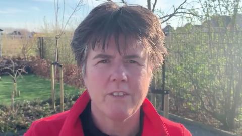 Burgemeester Ina Adema komt met videoboodschap