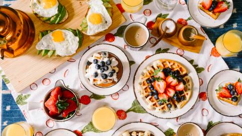 Nationaal schoolontbijt met basisscholen in Flevoland